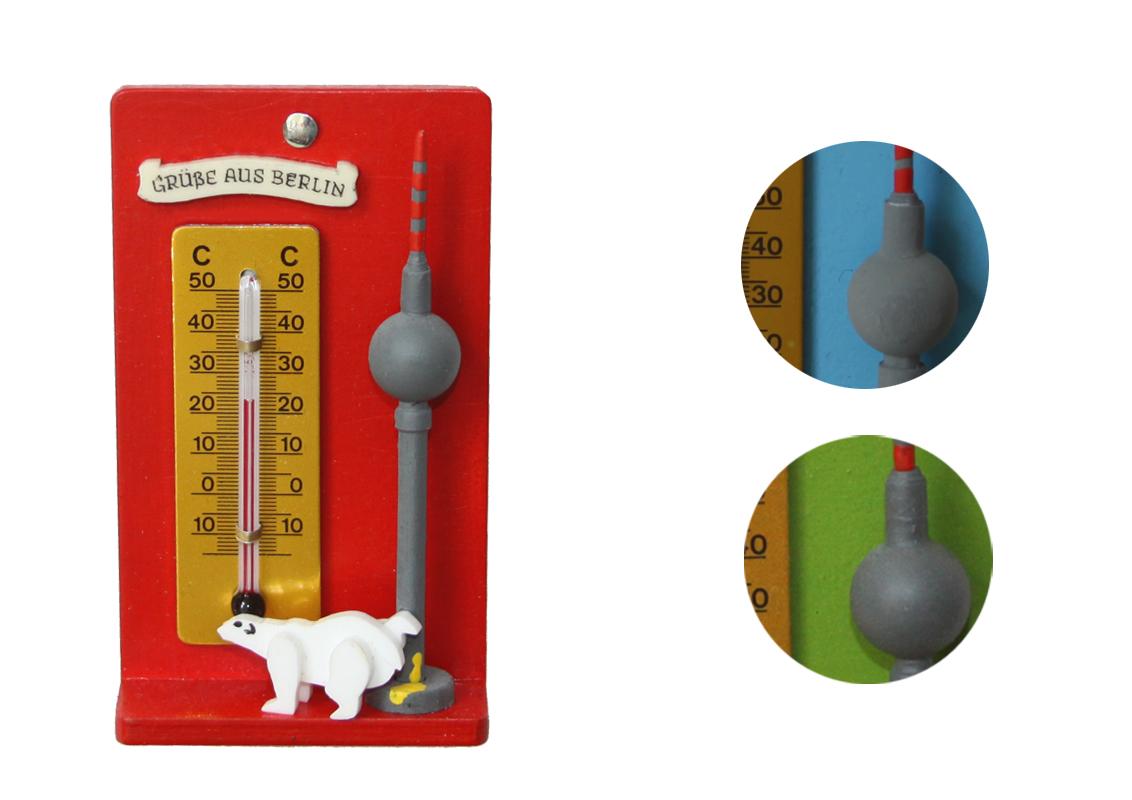 Thermometer Souvenir Berlin
